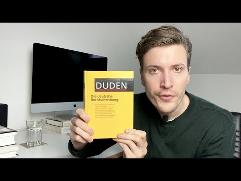 Reading The German Dictionary ASMR (Letter A)