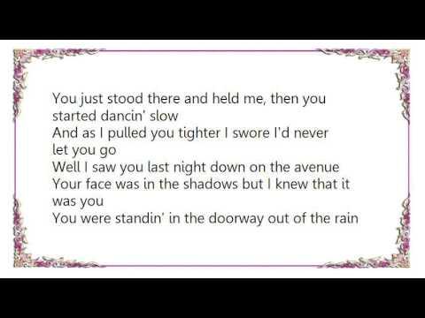 Bruce Springsteen - Point Blank Lyrics