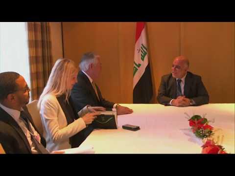 Secretary Tillerson Meets With Iraqi Prime Minister al-Abadi