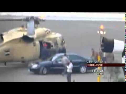 لحظة هروب مبارك من قصر العروبة   فيديو ~ EGYPT TODAY