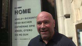 Dana White talks Conor McGregor talks about who he wants McGregor to fight!  Shot on 9/19/19