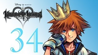 Kingdom Hearts HD 1.5 Remix - Final Mix Proud Difficulty With That Crazy Commentary Son Part 34