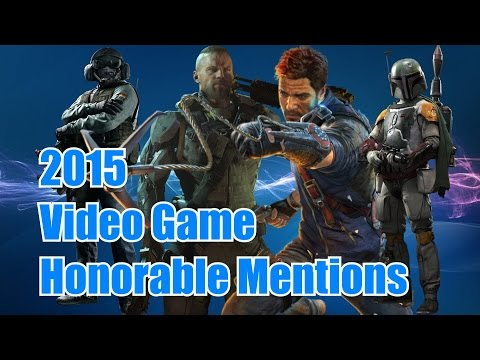 2015 Video Game Honorable Mentions