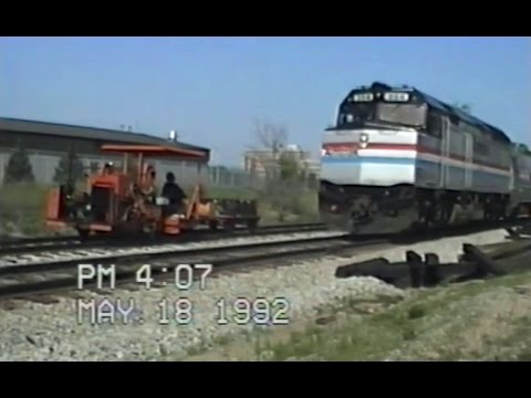 GTW Track Work - East Lansing MI - May 18-20 1992