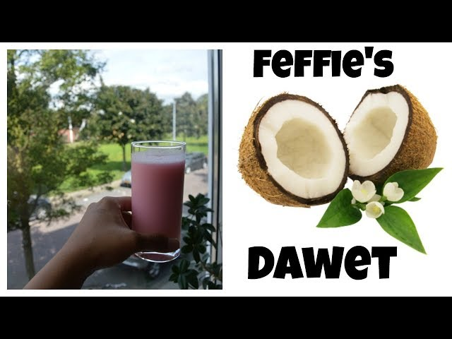 Recipe: How To Make Dawet (Indonesian exotic drink) | CWF