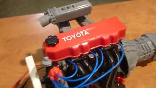 Model engine Toyota 22R-E