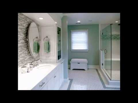 Glass tile bathroom decorating ideas
