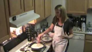 Seafood Enchiladas W/ Cream Cheese & Sherry Sauce