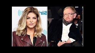 Kirstie Alley: Actress BLASTED for 'disrespectful' tribute to late Stephen Hawking