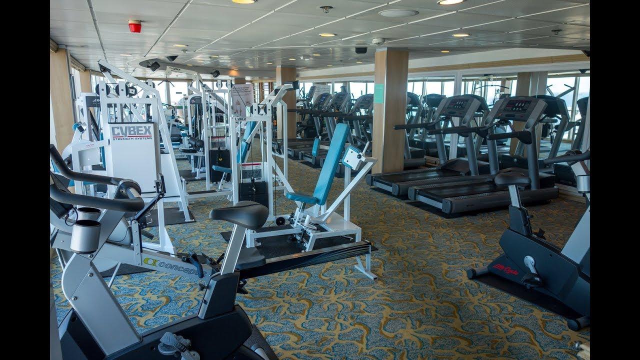 Tui Marella Discovery 2 Gym Youtube