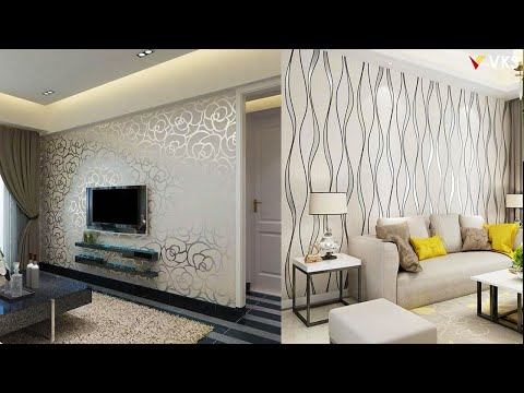Modern Wallpaper Interior Design Decor Ideas for Home | Living Room Wall Decor Ideas | 3D Wallpaper