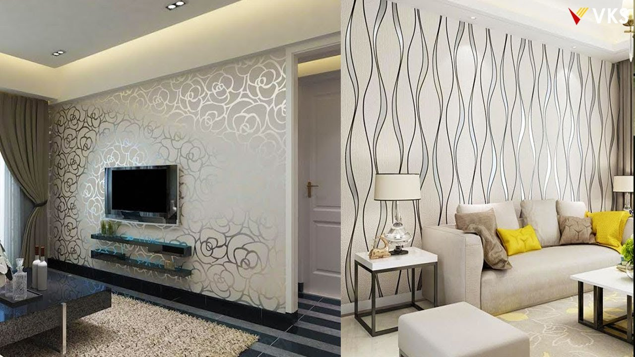 Modern Wallpaper Interior Design Decor Ideas For Home Living Room Wall Decor Ideas 3d Wallpaper Youtube