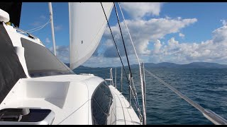 Lightwave 38 Catamaran Sailing:  Brisbane to Whitsundays and Townsville