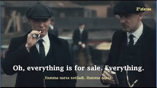 Learn English with movies - PEAKY BLINDERS | Toss the coin [English Subs]
