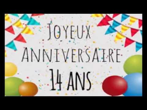 Joyeux Anniversaire De 11 Ans A 20 Ans Youtube