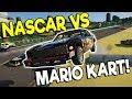 INSANE NASCAR RACE ON MARIO KART TRACK! - Next Car Game: Wreckfest Release Gameplay - Car Wrecks