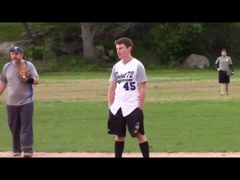 NBC Sports vs Point72 - Men's Softball League - Video Highlights - Stamford, CT - May 13, 2015