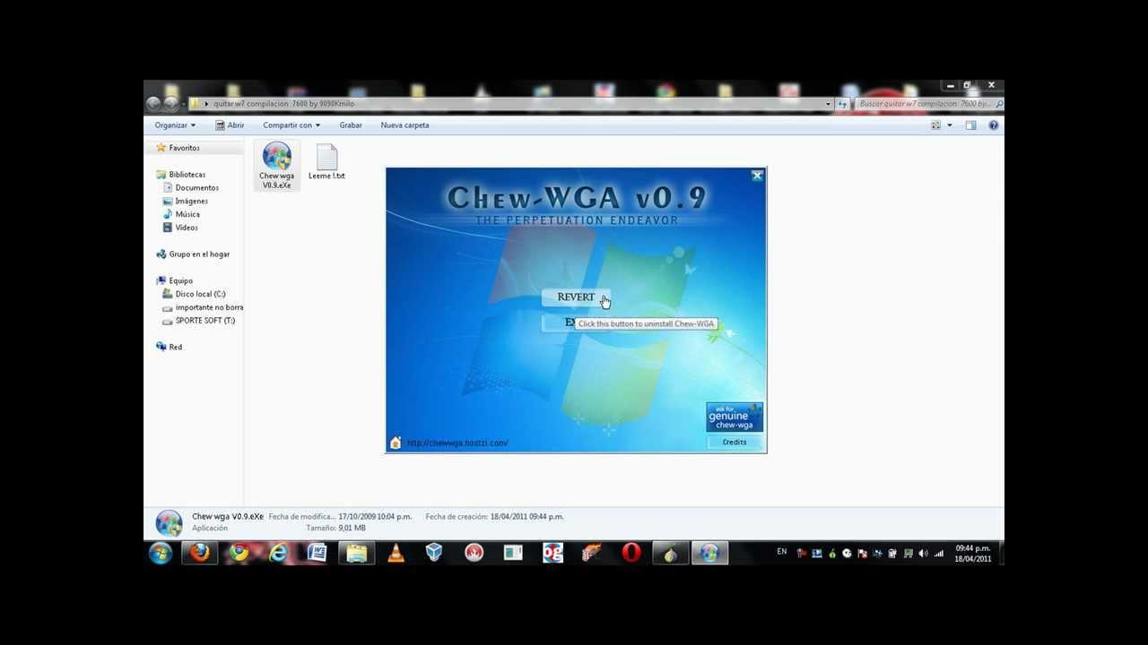 Quitar Mensaje Esta Copia De Windows 7 No Es Original Solucion Compilacion 7600 Youtube
