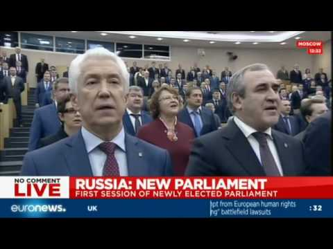 LIVE: First session of Russia's newly elected parliament