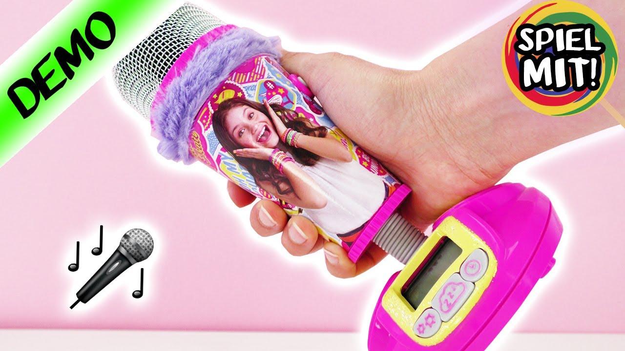 SOY LUNA Mikrofon   Wecker 2in1  94f04be745