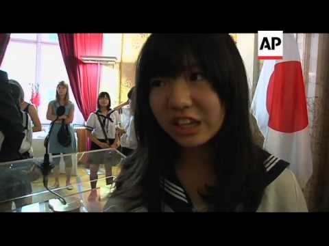 Children from Fukushima on holiday in Austria
