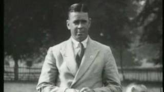 Australian Cricket Team Members 1930 Tour Of England {Rare Footage}