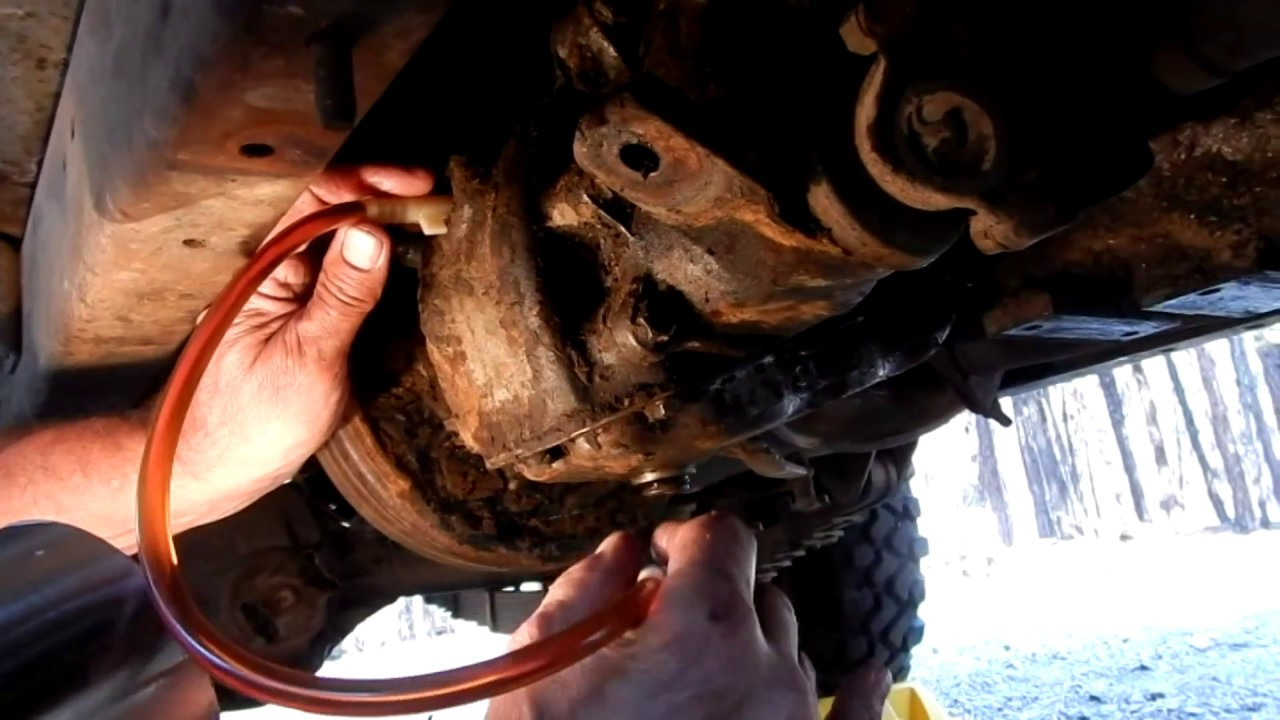 medium resolution of 1962 willys cj 5 jeep how to drain and refill the transmission and transfer case