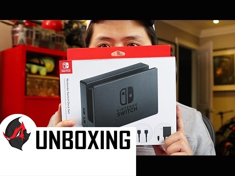 EXTRA Nintendo Switch Dock Unboxing - Most Useful Accessory Right Meow!! (IMO)