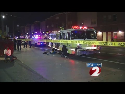 Bicyclist hurt in collision with Ohio fire truck