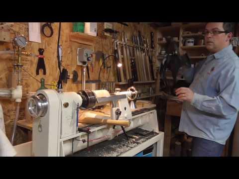 Tournage sur bois - la gouge à profiler