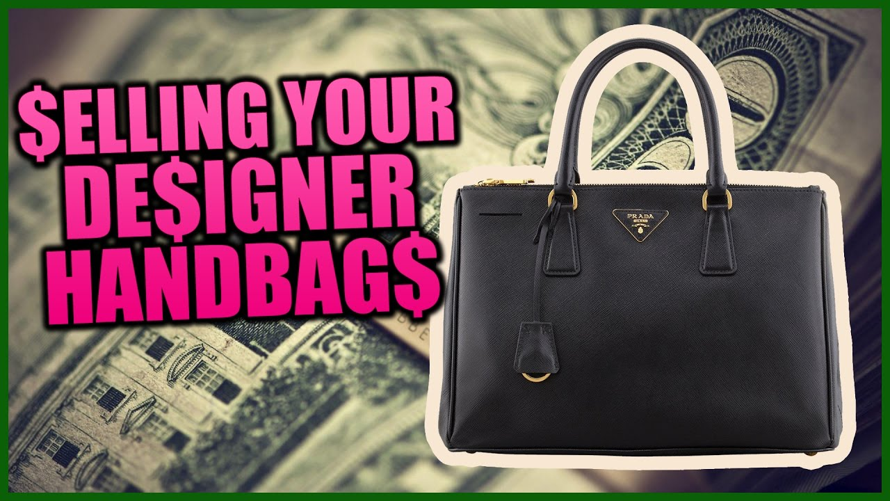 46682023fbf1 How to Sell your Designer Handbags - YouTube
