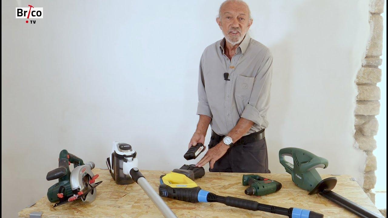 Une Meme Batterie Pour Bricoler Jardiner Nettoyer La Maison Tuto Bricolage Avec Robert Youtube
