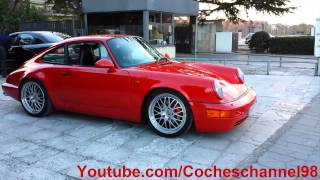 Porsche 964 Carrera Brutales Aceleraciones (Loud Sounds)