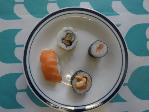 first time eating Sushi challenge $10,000