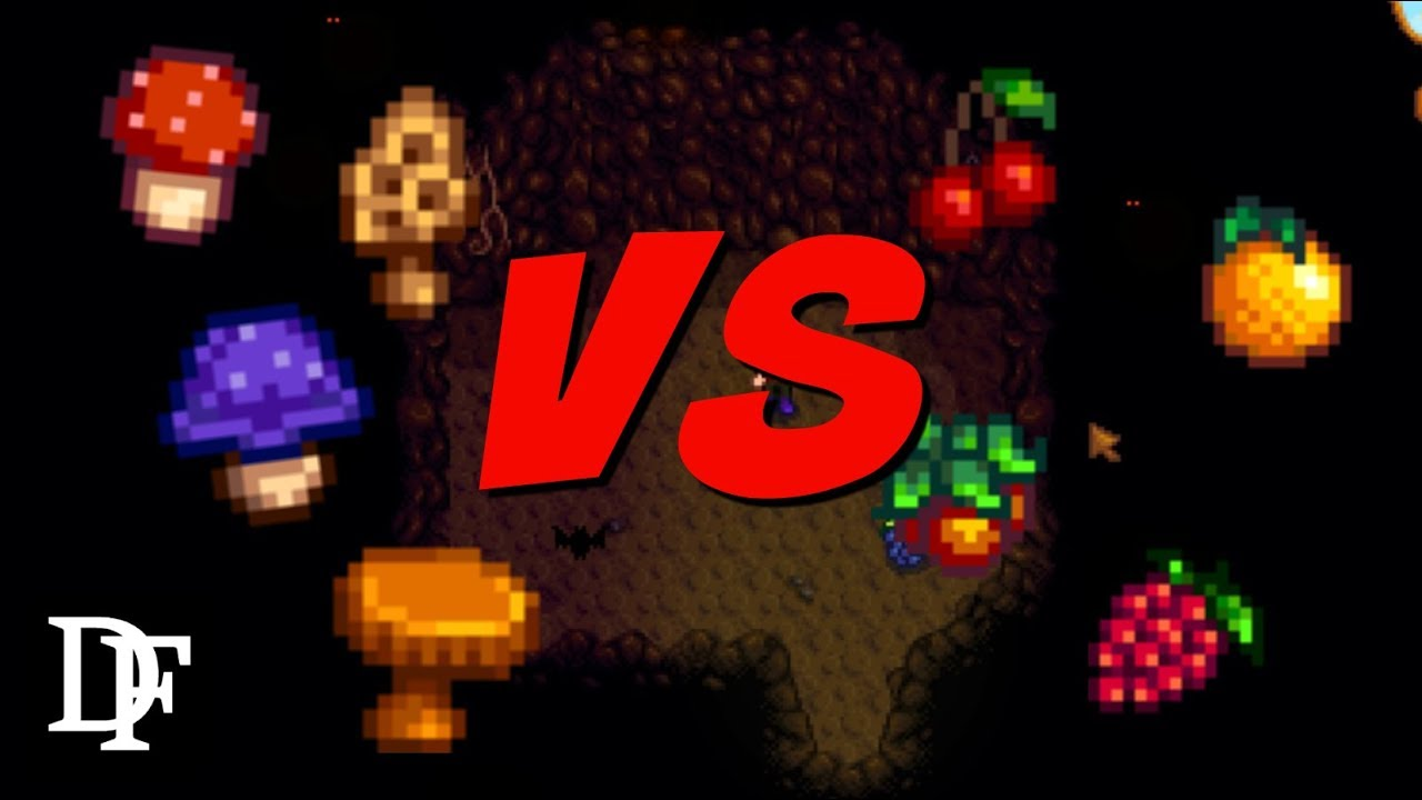 Mushrooms Vs Bats || Who Will Win? - Stardew Valley Gameplay HD
