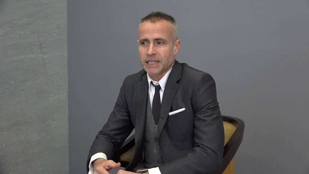 Uniformity Interview With Thom Browne Youtube