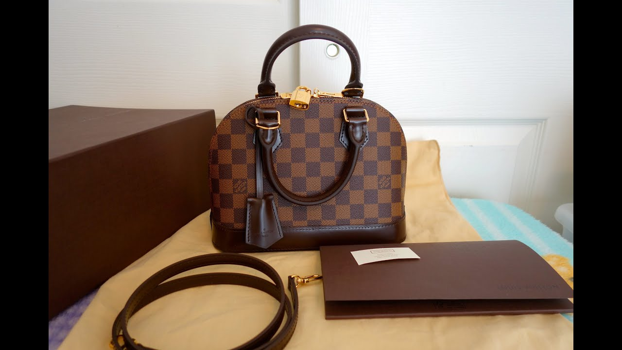 """Unboxing / Reveal of my LV ALMA BB ("""",)* - YouTube"""