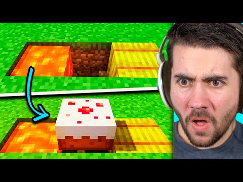 Minecraft, But We Surprise A Fan With A Cursed Base!