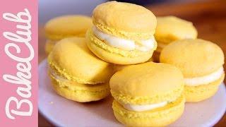 Zitronen-Macarons | BakeClub