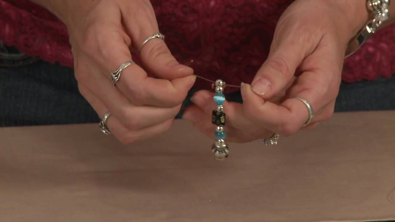 How To Use Stretch Cord Make Jewelry
