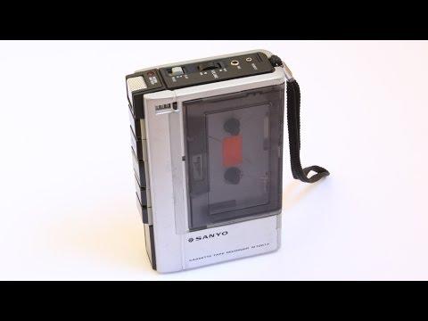 Sanyo M1001a Cassette Tape Recorder
