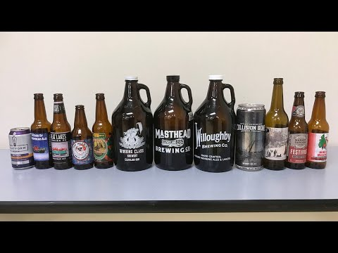 20-person panel tasted 12 local Christmas beers in blind test; See rankings from worst to best (video)