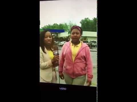 Girl Pees Herself On Live TV. Greenville, Ms (Original)