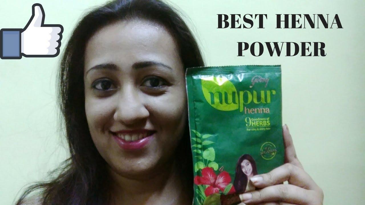 471d2462e Best Henna powder review ( GODREJ NUPUR 9 HERBS HENNA) बेस्ट ...