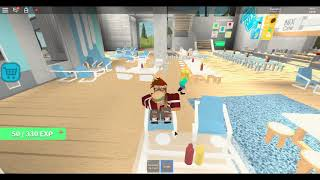 Touring Nix Cafe en Roblox!!