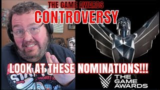 The Controversy Surrounding The Game Awards 2019