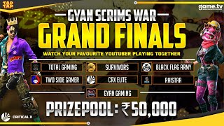 Tournament Live Final Day  - 50000 Prize Pool || Powerd By Game.Tv