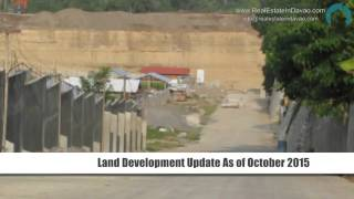 Land Development Update of The Prestige Subdivision-as of October 2015