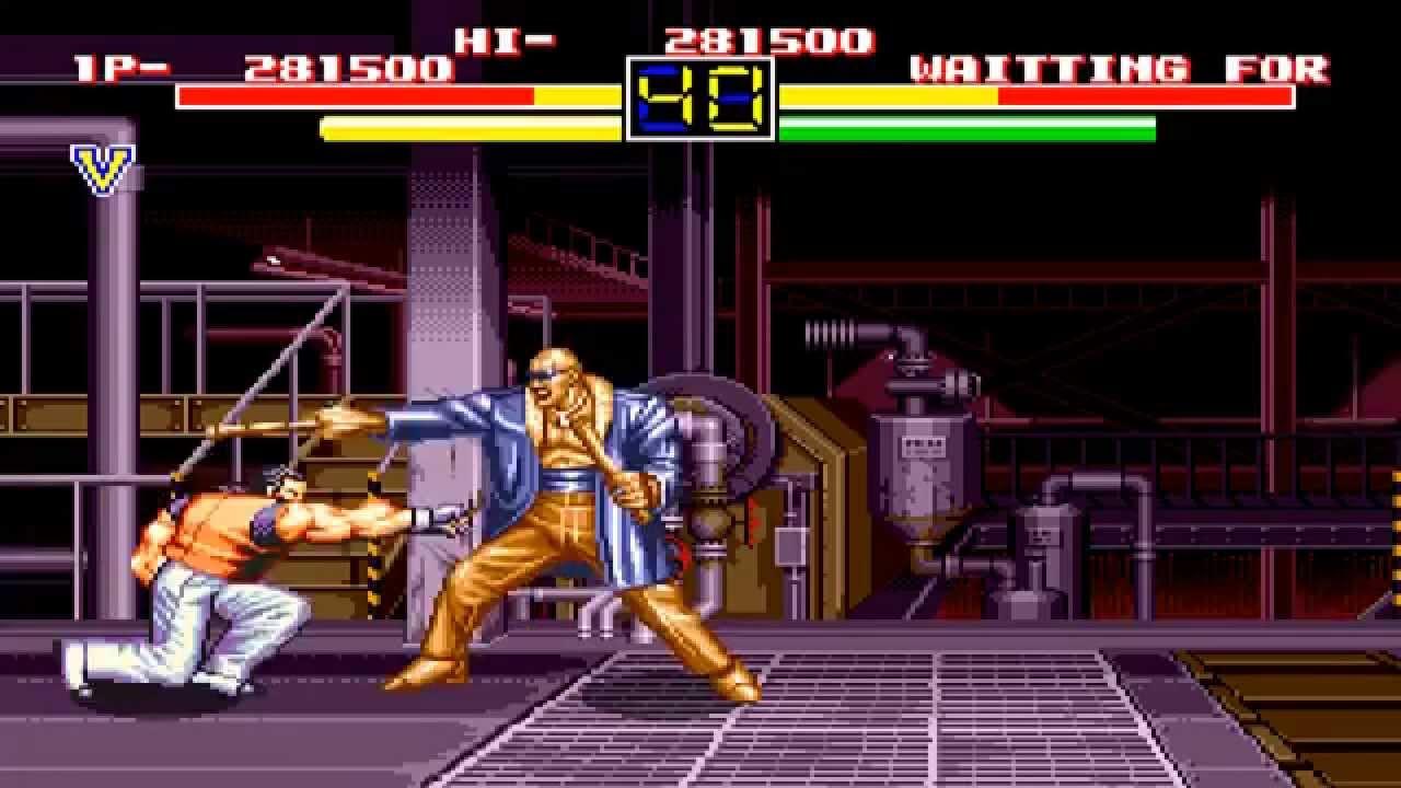 Sega Genesis Art Of Fighting Youtube