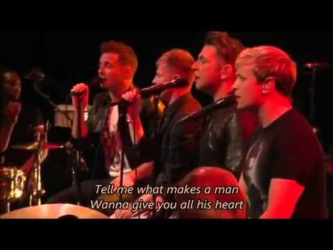 Westlife - What Makes A Man with Lyrics